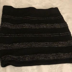 Forever 21 black pencil skirt size small